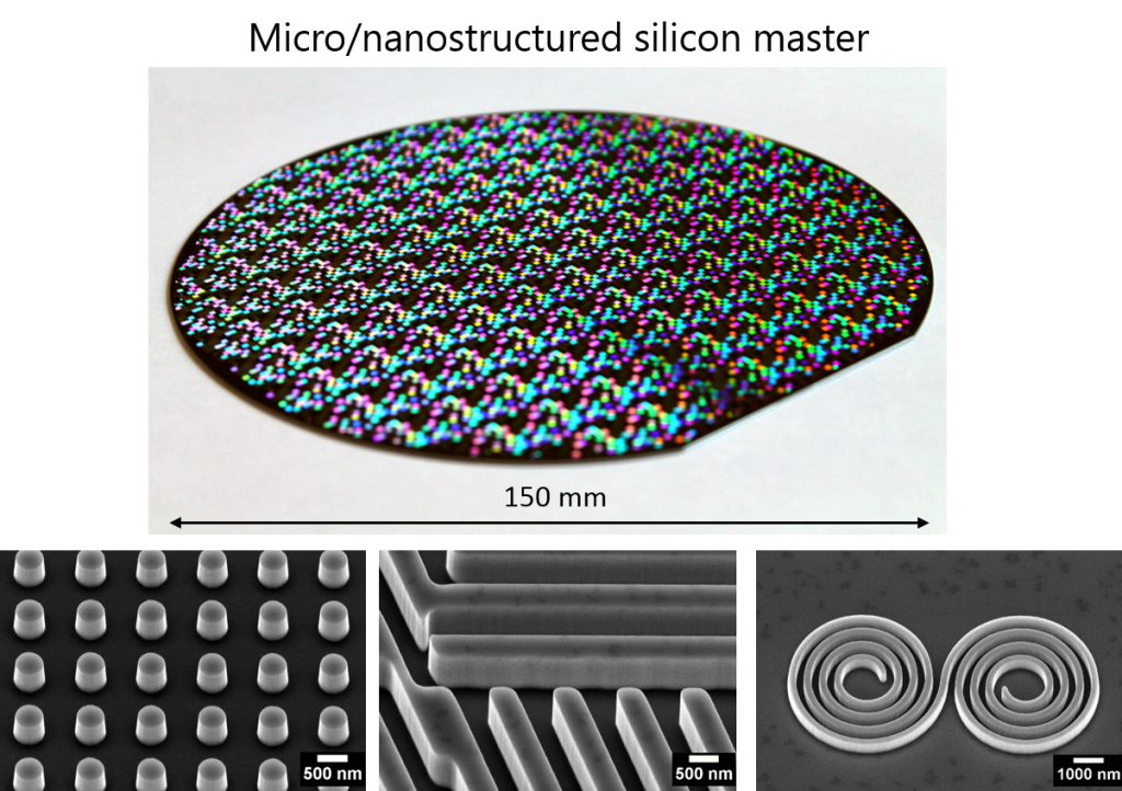 MicroNanoStructuredWafer